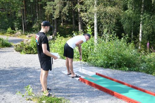 Kevin Asker och Albin Axelson